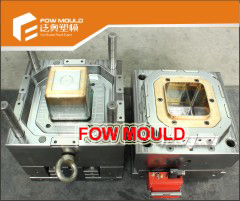 1 Cavity 4L Square Box Mould